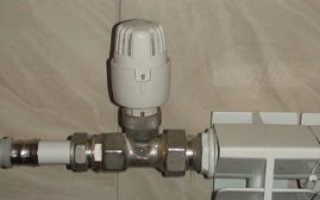 Автоматические регуляторы температуры на радиаторы в системах отопления