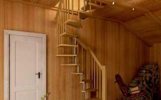 Видео сделать самому лестницу на чердак