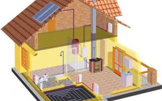 Электрическое паровое отопление в частном доме схема