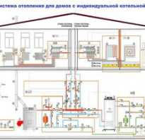 Схема водяного теплого пола 2х этажных домов