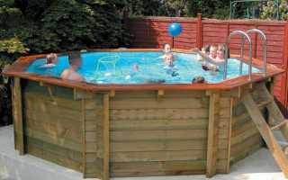 Закрытый каркасный бассейн для дачи своими руками