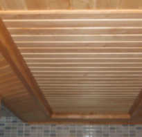 Баня своими руками устройство потолка в бане