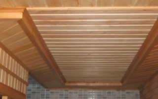 Чем сделать потолок в бане своими руками пошаговое руководство