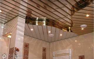 Алюминиевые потолки монтаж своими руками инструкция