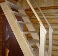 Как сделать лестницу своими руками на даче видео