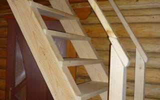 Как сделать лестницу на участке своими руками