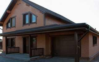Хорошие дома с гаражами с фундаментами