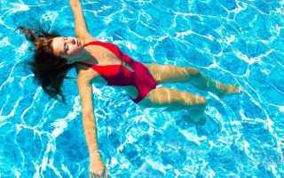 Если месячные в бассейне как быть ребенку