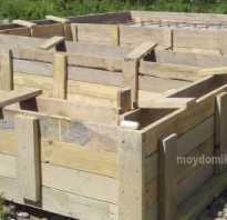 Фундамент своими руками для дома из газоблока