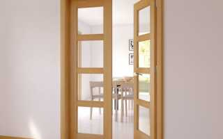 Установка двустворчатых дверей своими руками