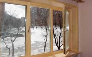 Герметизация деревянного окна своими руками