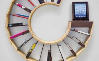 Как сделать полочку на стену для книг своими руками