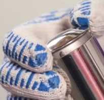Металлическая заглушка для труб для сварки