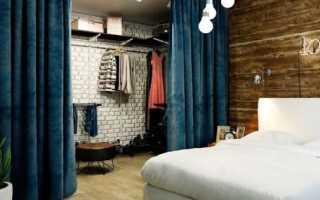 Гардеробная комната своими руками с окном