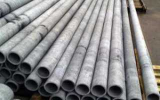 Асбестоцементные труба 100 мм для кабельной канализации