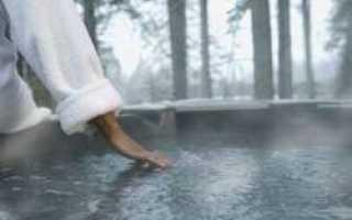 Бассейн в бане как нагреть воду