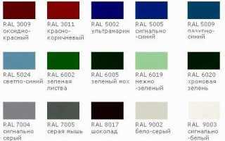 В какой цвет лучше красить забор