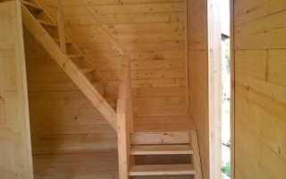 Как сделать лестницу на второй этаж своими руками на даче фото