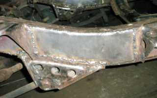 Методы сварки рамы автомобиля