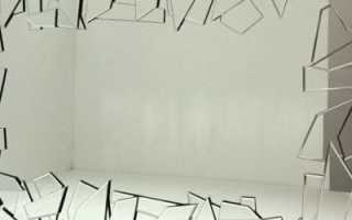 Как задекорировать трещину на стене своими руками