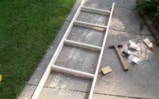 Как сделать лестницу своими руками с брусков