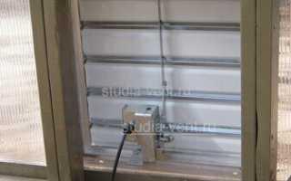 Автоматические жалюзи с электроприводом для вентиляции