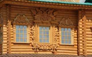 Ажурные наличники на окна своими руками