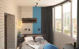 Варианты как сделать балкон в спальне