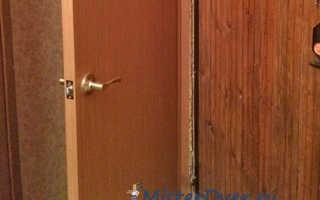 Установка второй двери своими руками