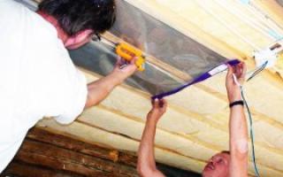 Электрическое отопление в частном доме на потолке