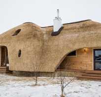 Что такое баня с камышовой крышей