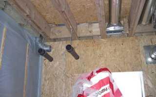 Установка приточной вентиляции в каркасном доме