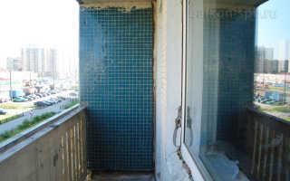 Балконы отделка и остекление в панельном доме
