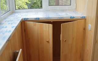 Изготовление тумбы на балкон своими руками