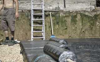 Чем сделать гидроизоляцию крыши погреба