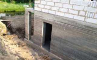 Фундамент своими руками с цокольным этажом