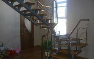 Как сделать лестницу на металлической основе своими руками
