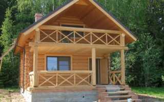 Как сделать пирог балкона в деревянном доме