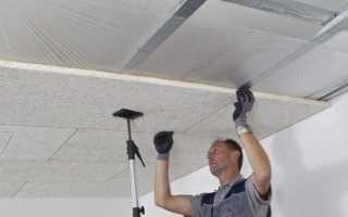 Шумоизоляция потолка в кирпичном доме своими руками