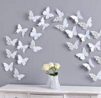Панно из бабочек на стену своими руками