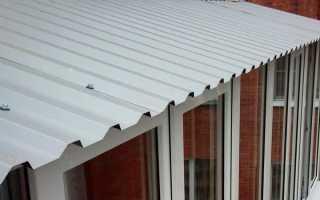 Как сделать балкон на плоской крыше