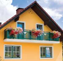 Наружная отделка открытого балкона в частном доме