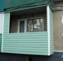 Как отделать балкон сайдингом своими руками