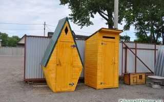 Как сделать дверь в дачном туалете