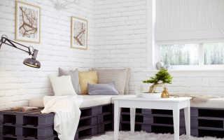 Как сделать белую кирпичную стену в квартире своими руками