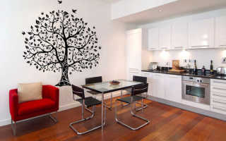 Дерево жизни на стене своими руками фото