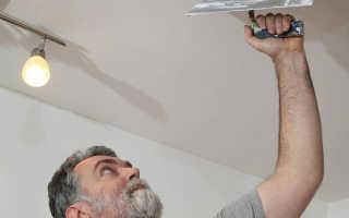 Шпатлевка и покраска потолка своими руками