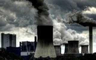Загрязнение воздушного бассейна как экологическая глобальная проблема