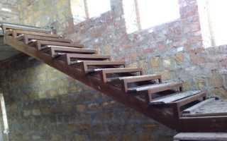 Как сделать лестницу своими руками из уголка