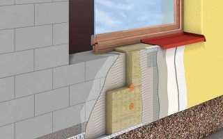 Утеплить дом из газобетона снаружи с вентиляцией